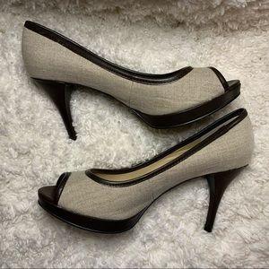🔅 Nine West Twirlo style heels, size 6